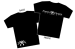 Poison Spyder Logo Black T-Shirt - Youth Large