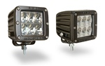 Rigid Ind. Dually D2 LED Lamps - Wide Beam (Pair)
