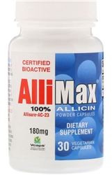 Allimax - Allimax 180 mg - 30 vcaps