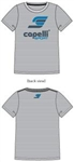 Youth Capelli Sport Logo T-shirt Grey Combo
