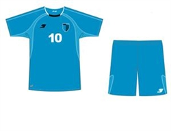 Adult Capelli Sport Soccer Uniform Blue Combo