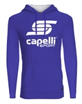 Youth Capelli Sport Blue LOGO Hoodie