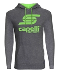 Youth Capelli Sport Green Combo LOGO Hoodie