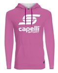 Youth Capelli Sport Pink LOGO Hoodie