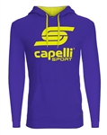 adult Capelli Sport Blue Combo LOGO Hoodie