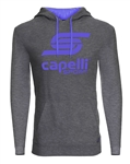 Adult Capelli Sport Grey Combo LOGO Hoodie Adult