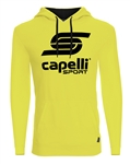 Adult Capelli Sport Yellow LOGO Hoodie