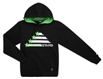 Youth Cedar Stars Screen Printed Hooded Sweatshirt