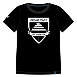 Youth Cedar Stars Crest Tee Shirt