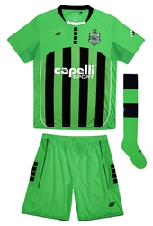 "Adult ""CARACARA"" 3pc Uniform Kit, Jersey, Short, Sock - NJCSA Edition"
