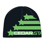Youth Cedar Stars Logo Knit Beanie