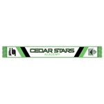 CSA Printed Fan Scarf with Fringe
