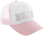 Capelli New York Bride Trucker Hat Foil Printing