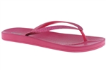 Capelli New York Pearlized Pvc With Glitter Upper Ladies Flip Flops