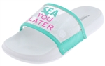Capelli New York Girls Slides Transparent Sea You Later Printing