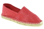 Capelli New York Ladies Solid Casual Canvas Espadrille Flat