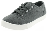 Capelli New York Ladies Sneakers with Grosgrain Binding and Memory Foam Insole