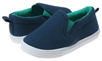 Capelli New York Toddler Boys Solid Canvas Slip-On Shoe