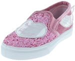 "Capelli New York ""Mermaid at Heart"" Crunchy Glitter Fashion Slip On with 3D Tail and Velvet Heel Detail"