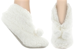 Capelli New York Girls Slipper Boots with Grippers