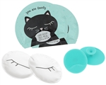 Cleansing Kit - Face Masks, Face & Eye Pads - Sweet Kitty