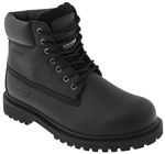 Capelli New York Men's Waterproof Nubuck Leather Work Boot with Memory Foam Insole Black 10
