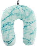 Capelli New York Printed Neck Pillow - Marbled