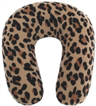 Capelli New York Printed Neck Pillow - Leopard