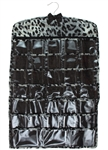 Capelli New York Wild Leopard Pattern Hanging Jewlery Closet Organizer