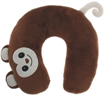 Capelli New York 3D Neck Pillow - Monkey