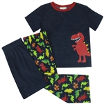 Capelli New York Little Boys Dinosaur 3 Piece Set: Tee, Short and Pants