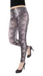 Capelli New York Snake Printed Slinky Legging