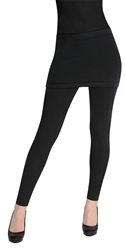Capelli New York Solid Skirt With Slinky Legging