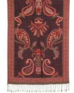 Capelli New York Dancing Paisley Jaquard Scarf