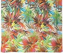 Capelli New York Rainforest Printed Poly Chiffon Pareo