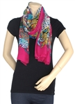 Capelli New York Tropical Cluster Engineered Printed Scarf