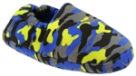Capelli New York Boys Pop Camo Moccasin Indoor Slippers