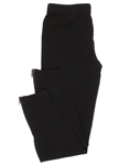 Capelli New York Girls Solid Jersey Full Length Legging With Side Zipper