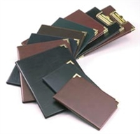 Classic Collection Pad Holder-Black or Burgundy