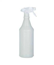 Trigger Sprayer atop one quart bottle