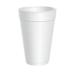Dart 16 oz Foam Cups