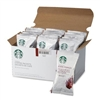 starbucks French Roast coffee packets