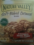 Nature Valley Soft-Baked Oatmeal Bars Naturally Flavored with Cinnamon Brown Sugar