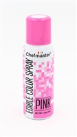 Chefmaster Edible Luster Spray - Pink