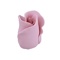 Gum Paste Formal Rosebud On A Wire - Mauve