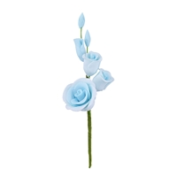 Gum Paste Rose Filler - Blue