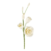 Gum Paste Rose Filler - Ivory