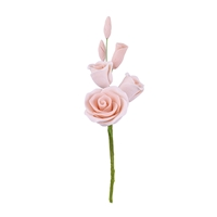 Gum Paste Rose Filler - Peach