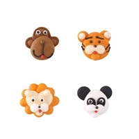 Mini Jungle Animal Faces Assortment