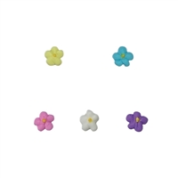 Mini Royal Icing Drop Flower - Assorted Colors